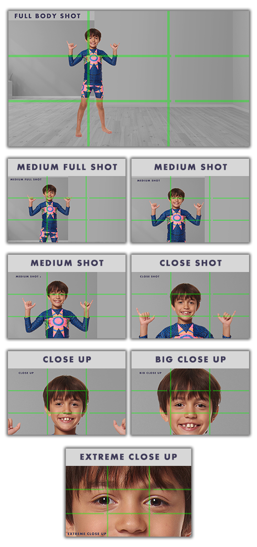 how to take different types of photos