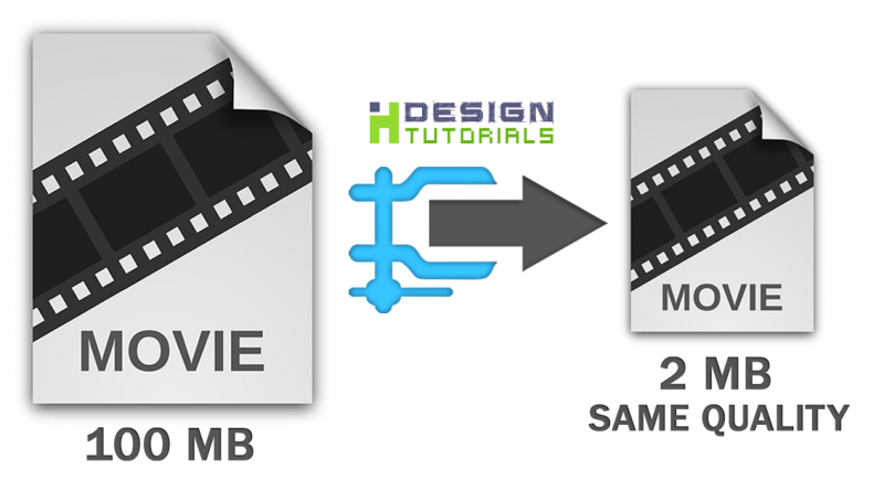 Reduce video file size without losing quality | HEVC Compression
